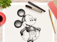 Mickey hd dribble