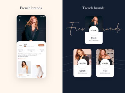 French brands, trends brands