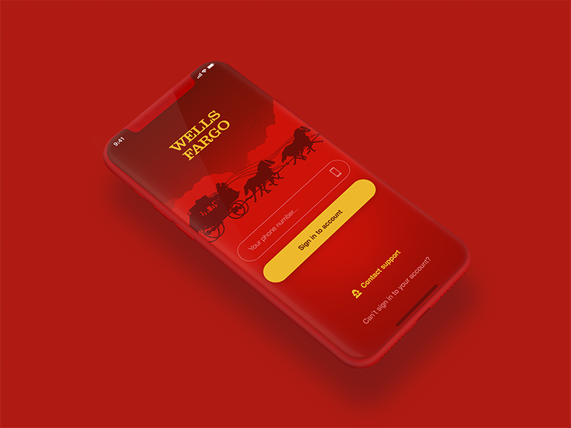 Wells Fargo Mobile Banking by Isaev Design on Dribbble