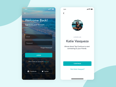 Mobile Login Screen Design clean design inspiration get started mobile app design login screen mobile design mobile app