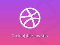 2x Dribbble Invites Giveaway invites contest dribbble invite invitation giveaway invite