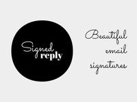 SignedReply logo logo