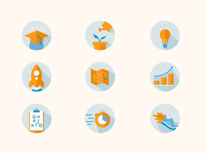 Icon Set | Tech Company