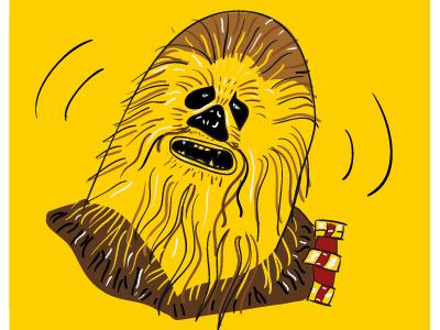 ahhhrrrmm! chewbacca
