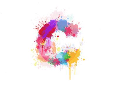 """""""c"""" watercolour logo letter logo watercolour"""