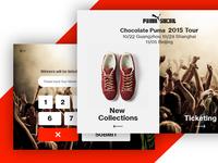 Puma Social Microsite Campaign
