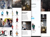 StarSkyClouds Full Website Design