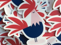 COCORICO! stickers 🐓🇫🇷