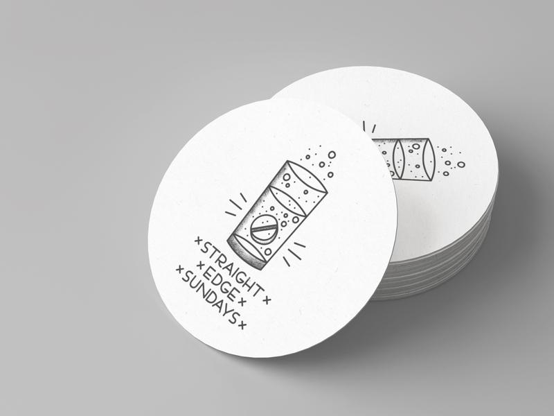 xSTRAIGHTxEDGExSUNDAYSx rebound illustrator illustration stickermule bubbles tattoo flash tattoo sticker hangover painkiller alcohol booze