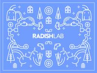 Radish Lab Winter