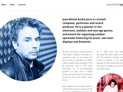 Jarre mk2 grid minimal open sans white black jarre france