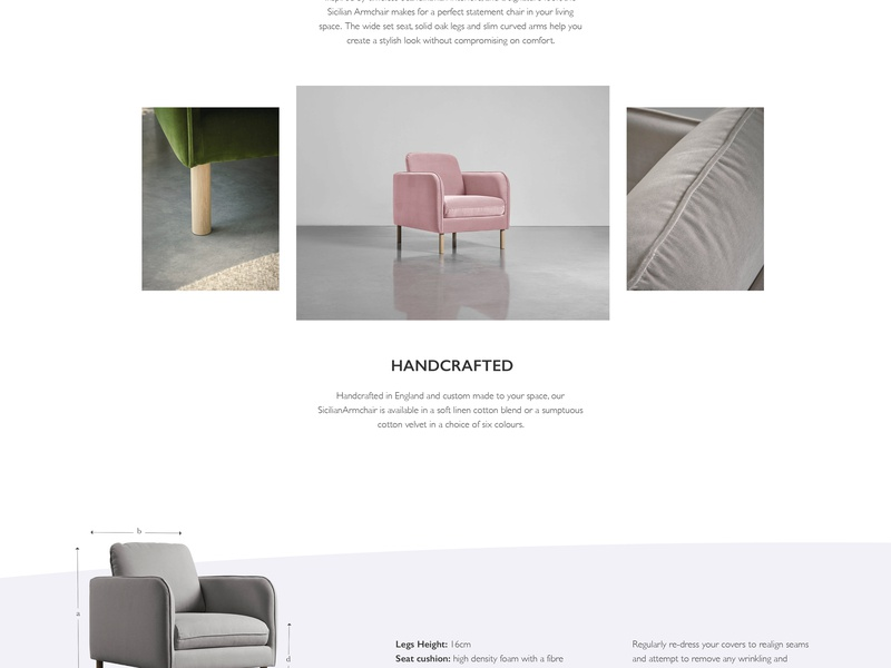 Ecommerce Product Page magento 2 ecommerce ecommerce design blue and white blue