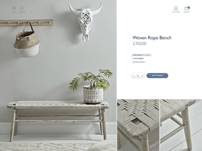 Product Page ecommerce design ecommerce product page magento white blue