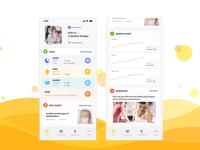 Glow Baby app redesign