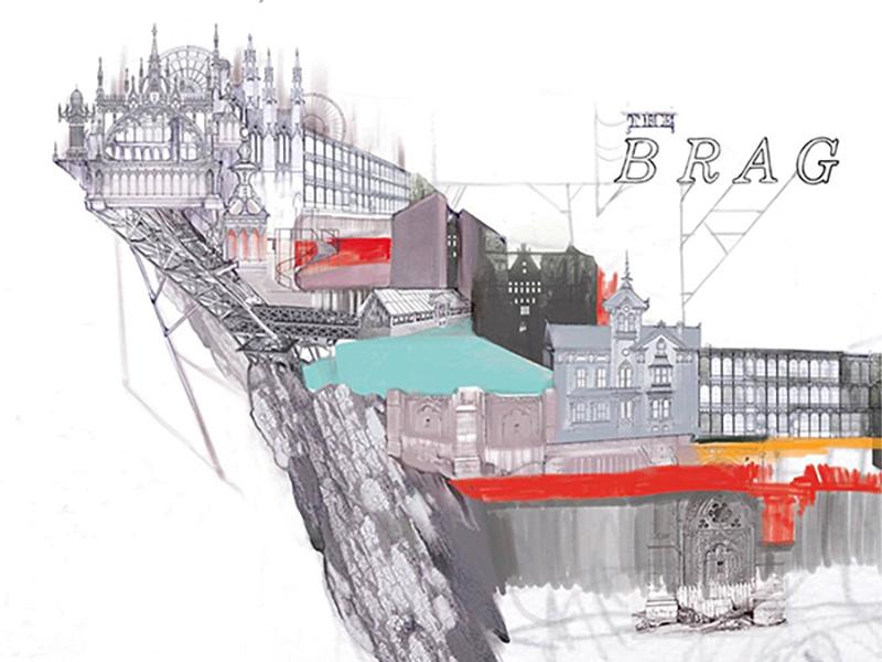"""The Brag"" painting digital painting chlidrens book drawing digital illustration"