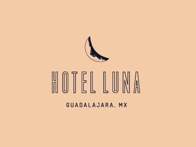Hotel Luna Logo vector brand identity branding logo