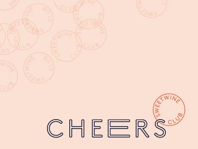 Sweetwine Club Branding typography brand identity branding logo