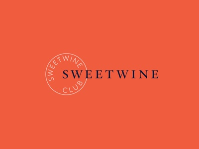 Sweetwine Club Branding