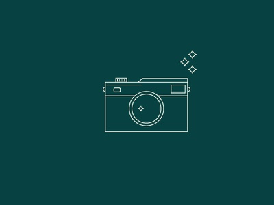 La La Local Camera Icon branding vector graphic icon