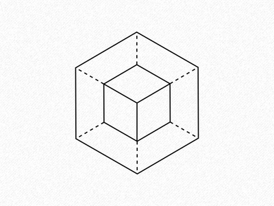 Hexagonal geometry geometry design iconography