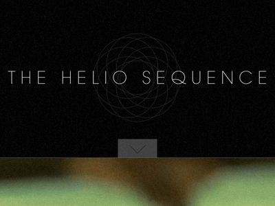 Helio Sequence website branding music photography html5 responsive