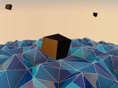 Geometry World 3d cinema 4d luminescence modeling rendering