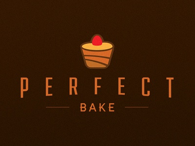 Perfect Bake branding logo identity business invention