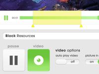 Video UI