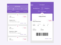 My Bookings for a Travel App