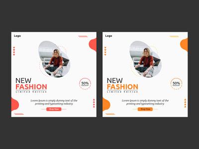 New Fashion Social Media Post colors
