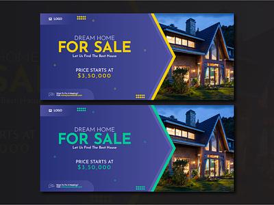 Real Estate Social Media Cover colors