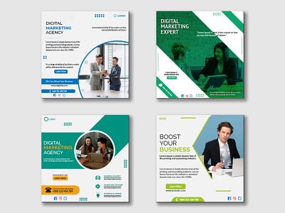 Digital Marketing Agency Social Media Post colors