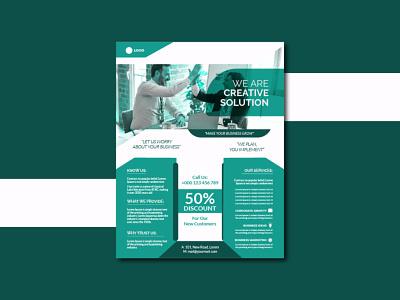 Corporate Flyer Design creative flyer