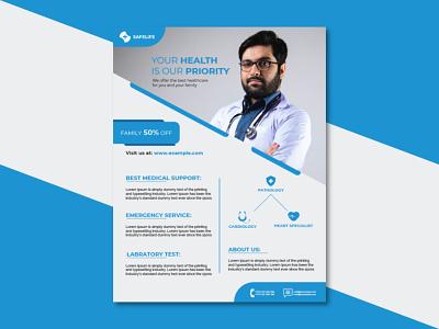 Medical Flyer Design creative flyer