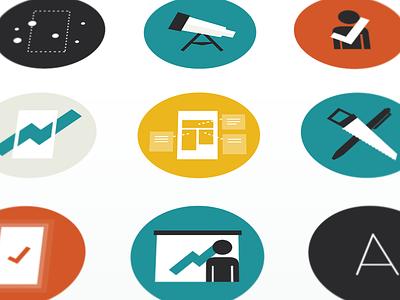 Create Icons app startup ui icon set icons create digital lean process ux