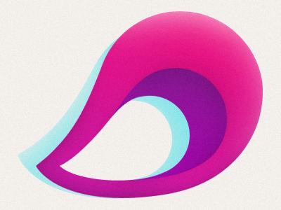 Pollenizer Logo Color organic logo growing identity brand startup