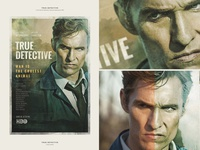 True Detective [ Fanart poster ]