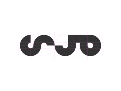 Mada Logo minimal lines circles geometric typography arabic logotype logo
