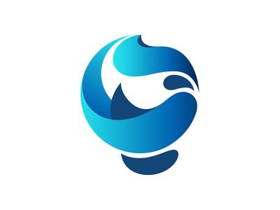 Dunia Logo circles geometric typography arabic donia dunia earth ball globe monogram logo