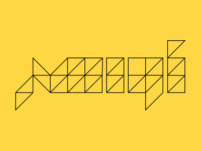 Awaser 3 minimal lines circles geometric typography arabic logotype logo