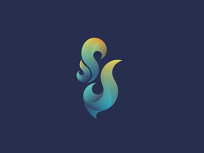 Huda Flame 1 huda gradient symbol icon typography arabic logo fire flame
