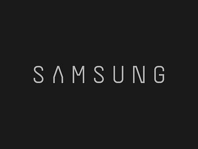 Samsung revamped logo design logotype typography revamping revamp identity brandidentity branding brand logo samsung