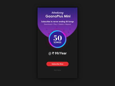 Mini Subscription Pack