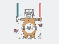 Bear developer of the force