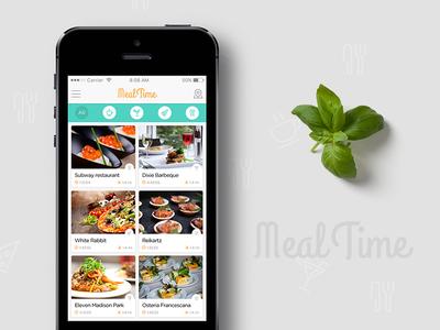 MealTime ios app