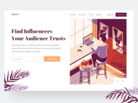Space - web service where business finds influencers