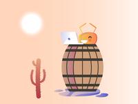 Coding in the desert