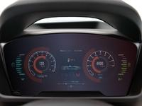 Autonomous Car Dash Display