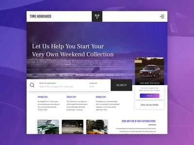 Day 4 - Design Exploration: Vintage Car Search