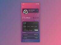 Day 18 - Design Exploration - Bank app